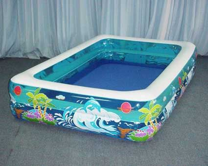 Piscinas hinchables y minihinchables for Piscinas desmontables cuadradas